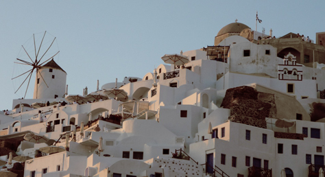 Walk from Fira to Oia