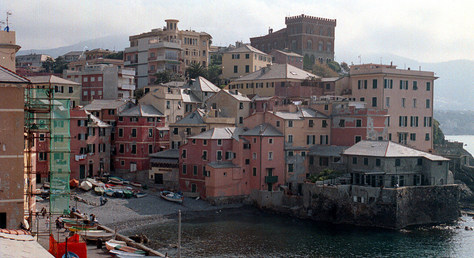 Boccadasse fishing village