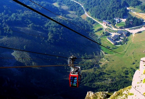 The Fuente Dé cable car