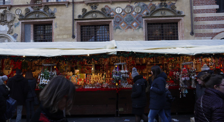 The Comet, the markets, the exhibitions: Christmas in Verona is magical