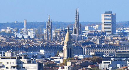 A view of Bordeaux