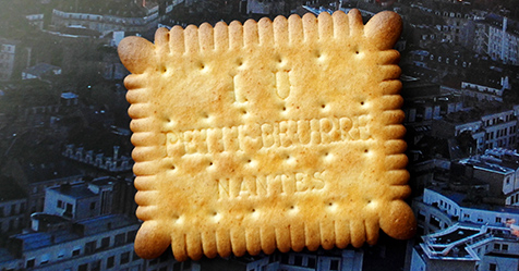 The real Petit-Beurre from Nantes