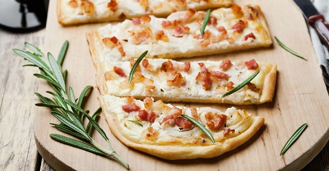 "La tarte flambée, un piatto o un pasto ""Made in Alsazia"""