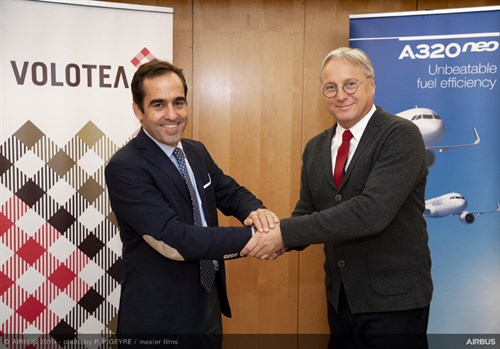 Volotea And Airbus